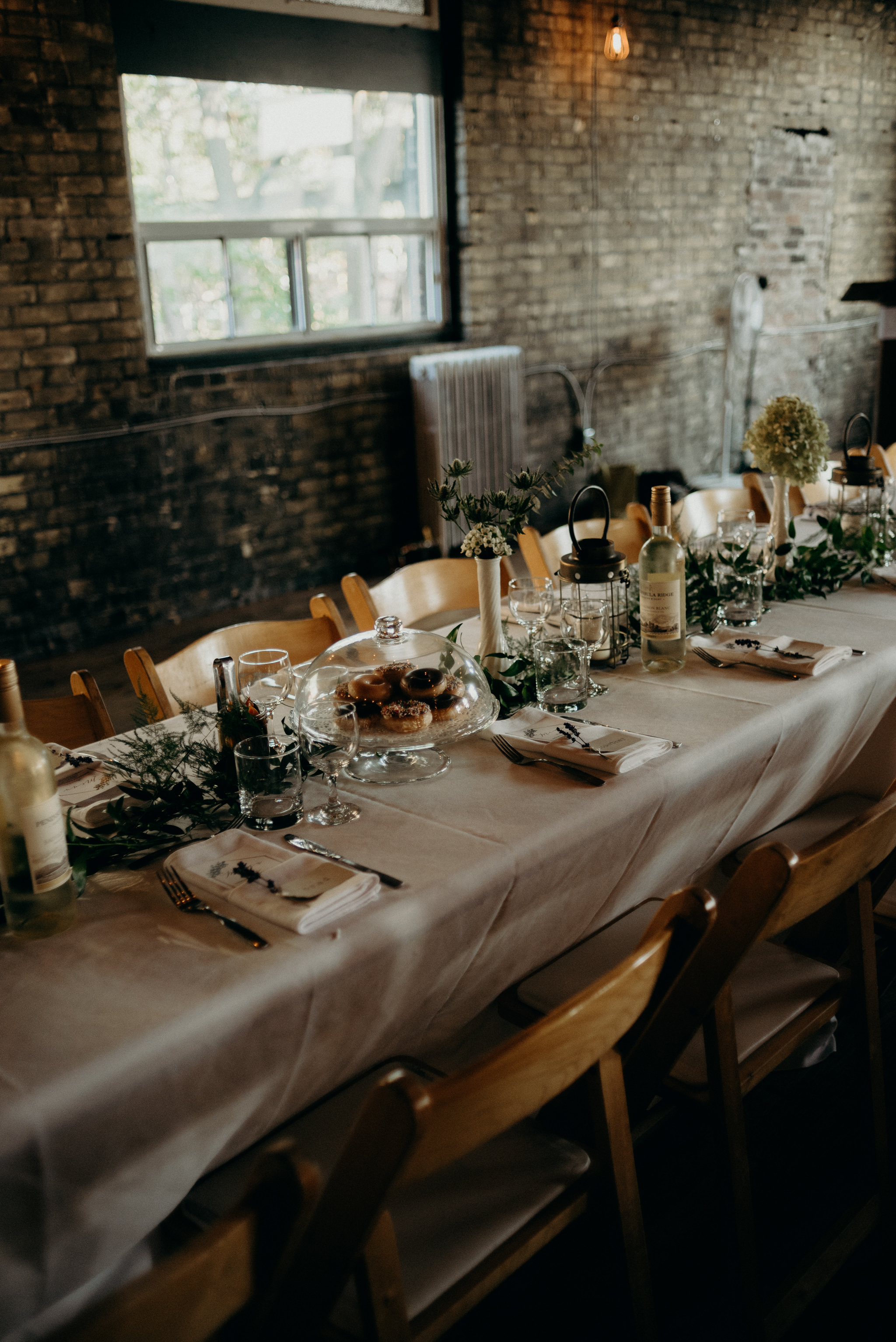 Jam Factory wedding reception