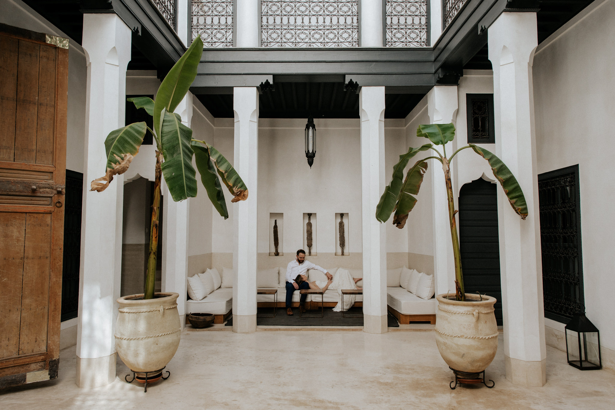 Morocco elopement at Riad 42