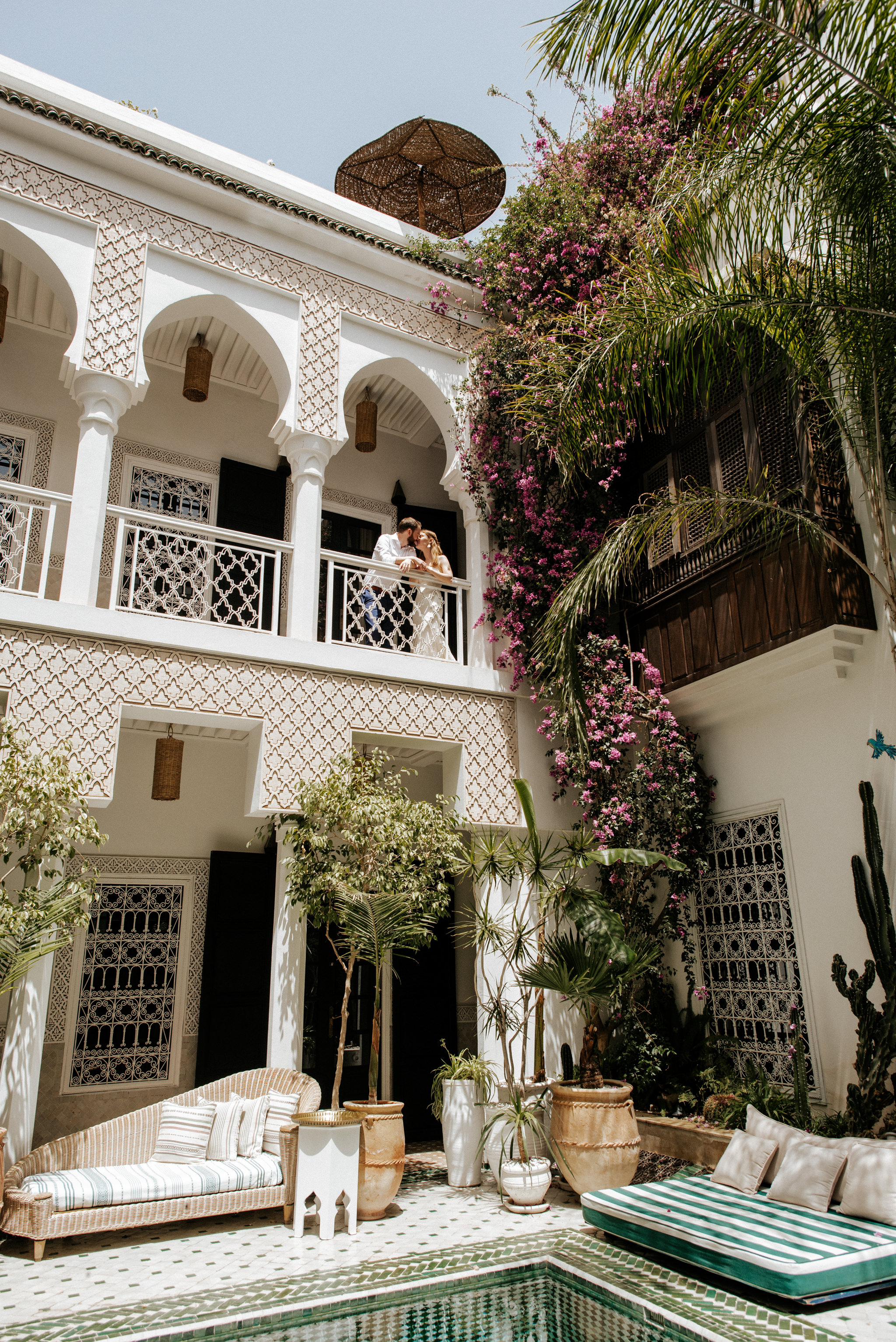 Dreamy wanderlust elopement at Le Riad Yasmine