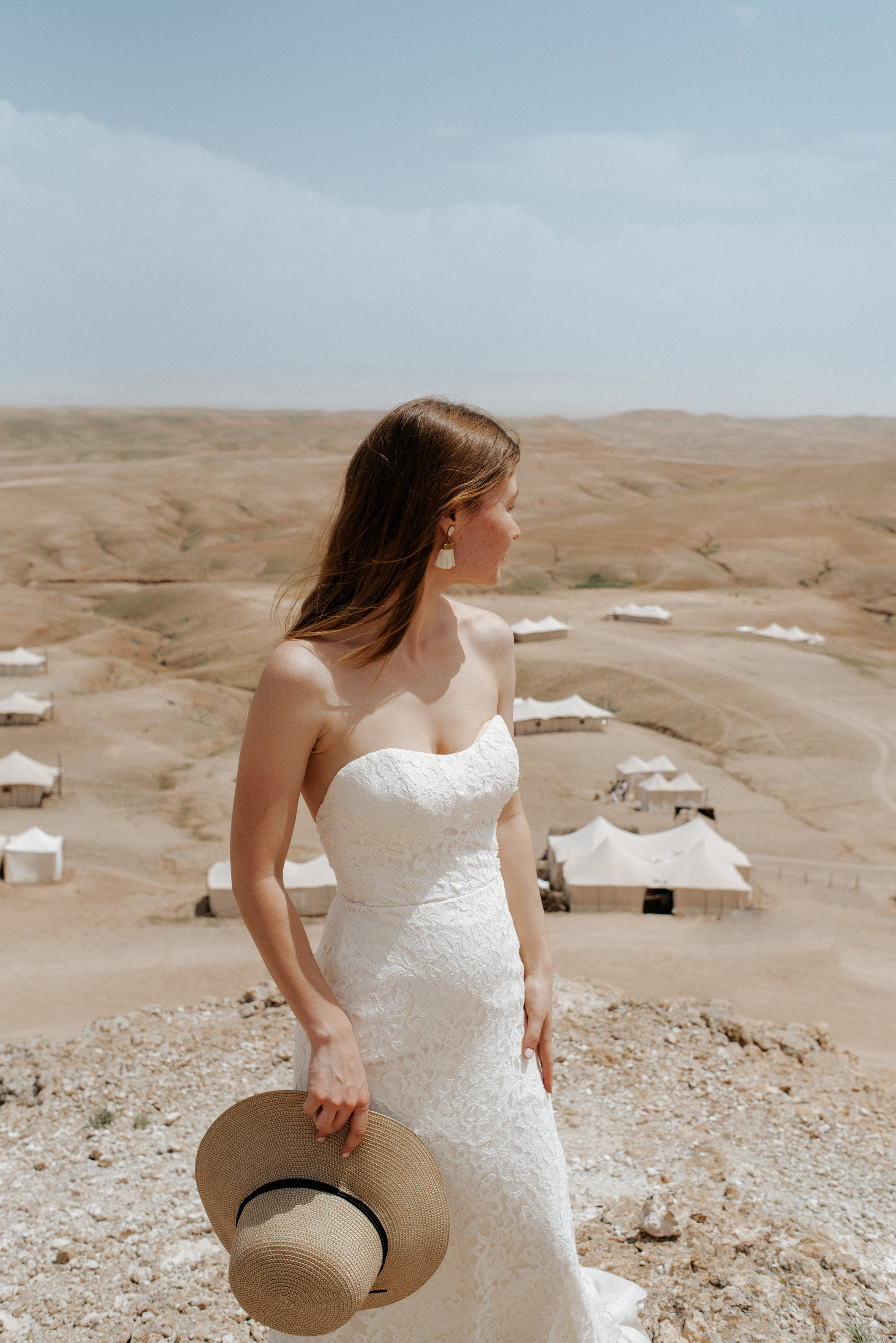 Bride at Scarabeo Camp