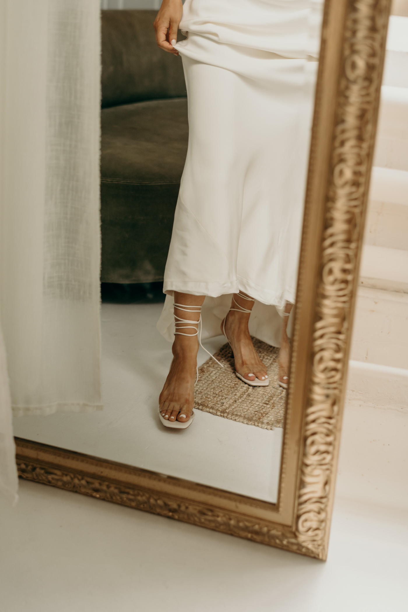 Zara wedding shoes that lace up