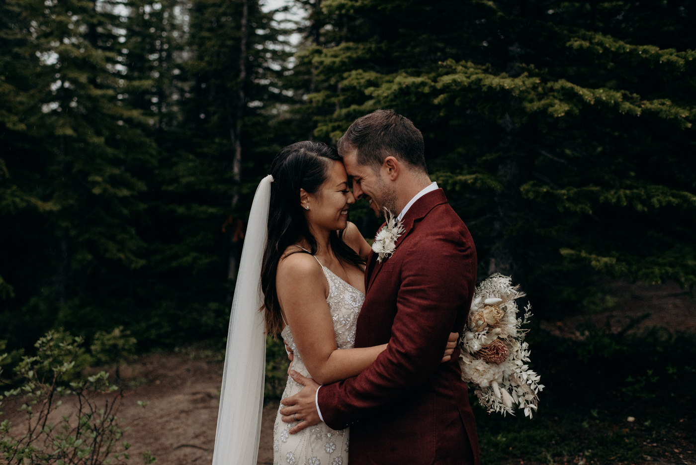 mountain elopement at Banff National Park