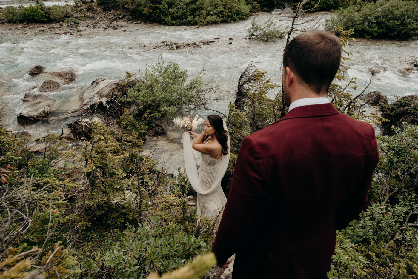 mountain elopement in Canada