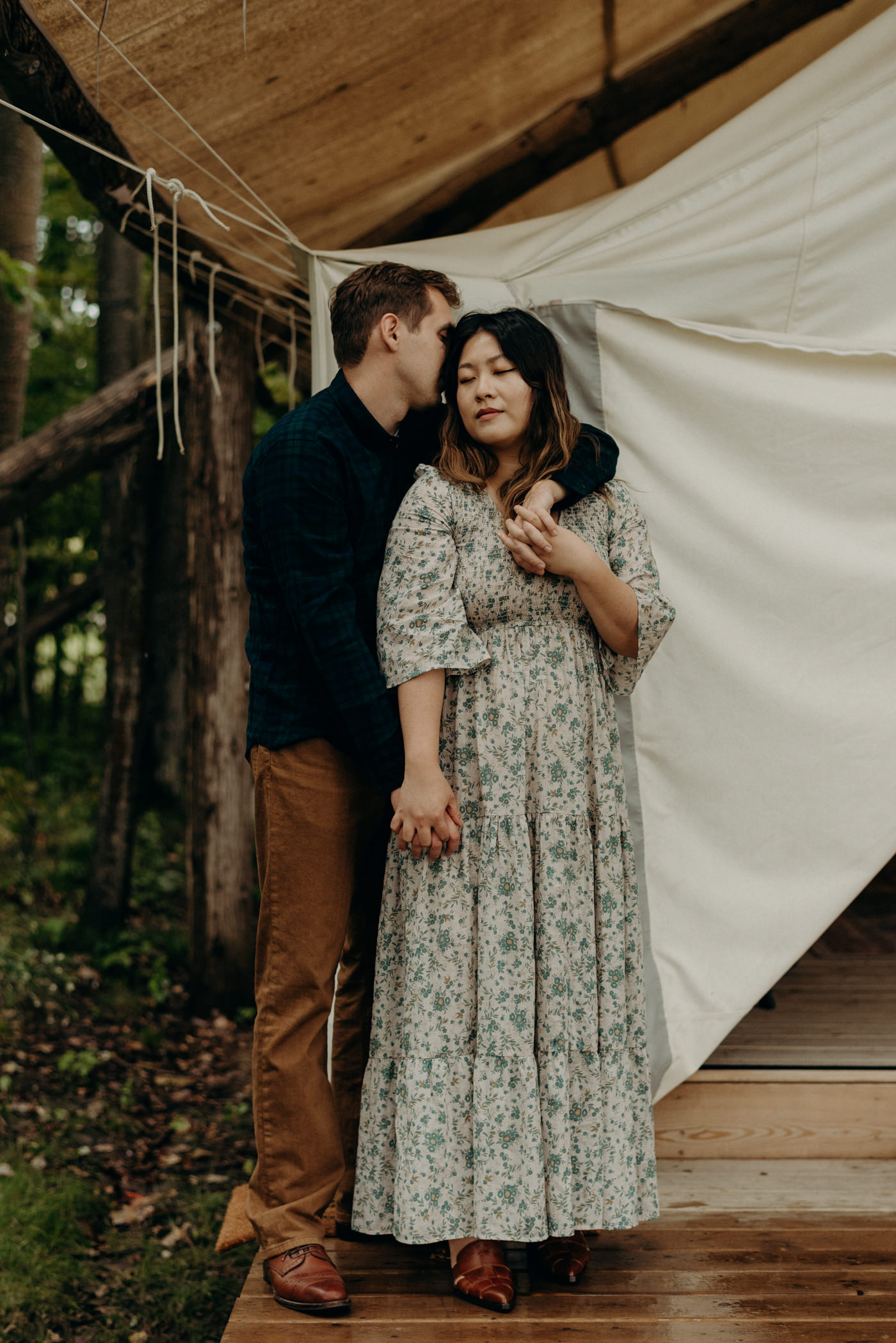 Glamping engagement