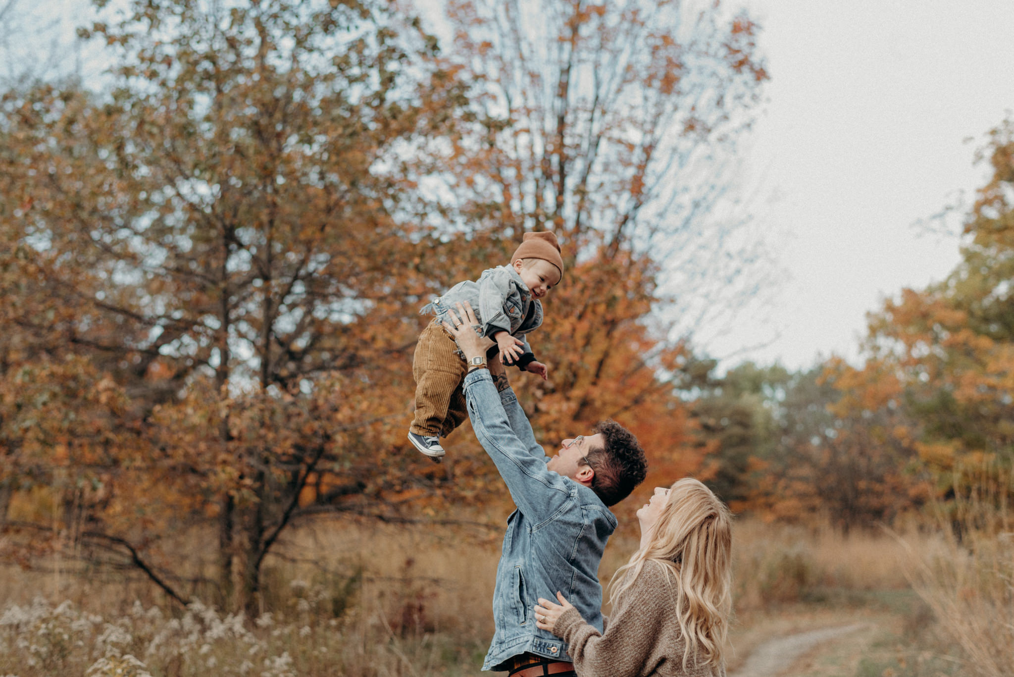 High Park Family Portraits in the fall