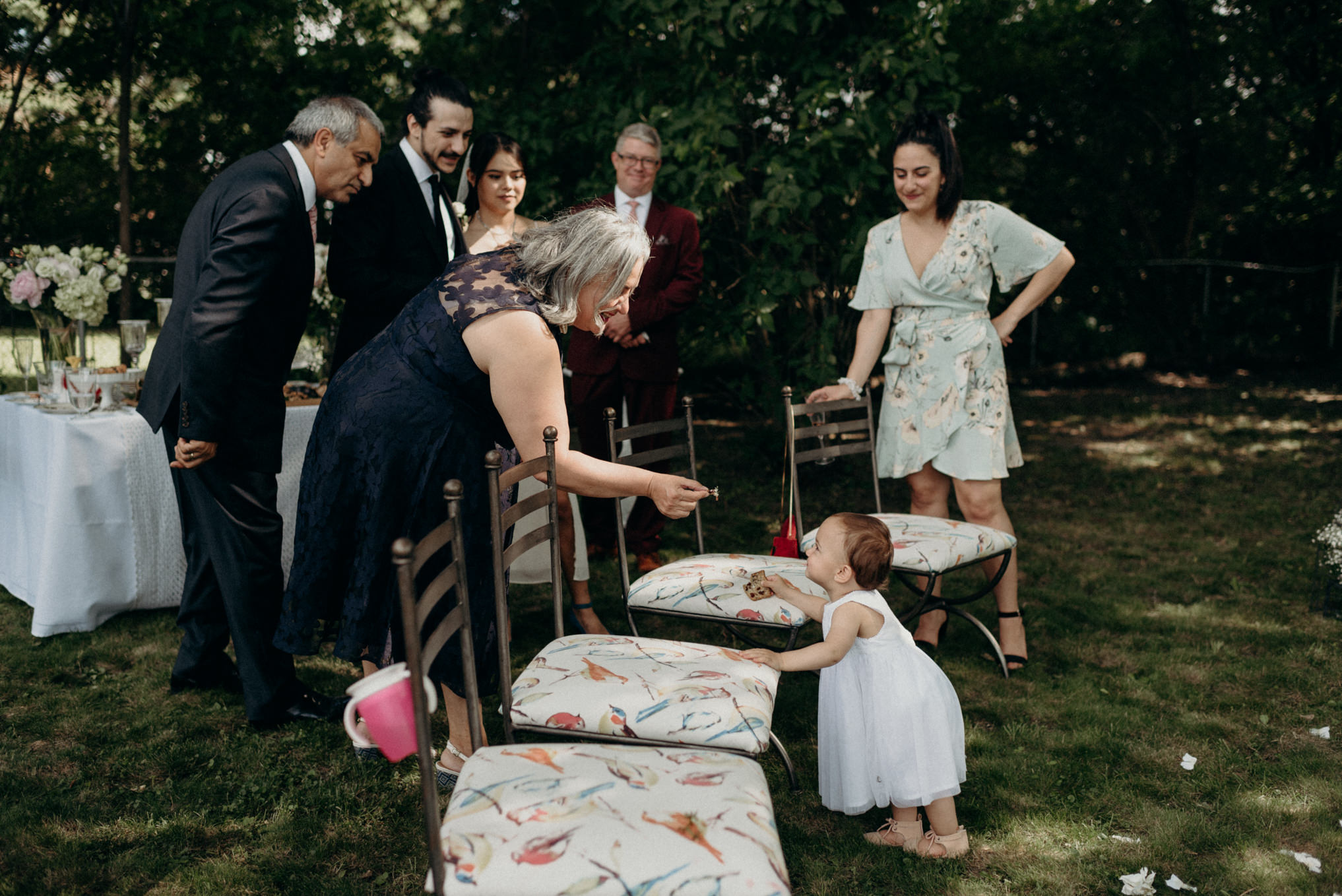 covid backyard wedding