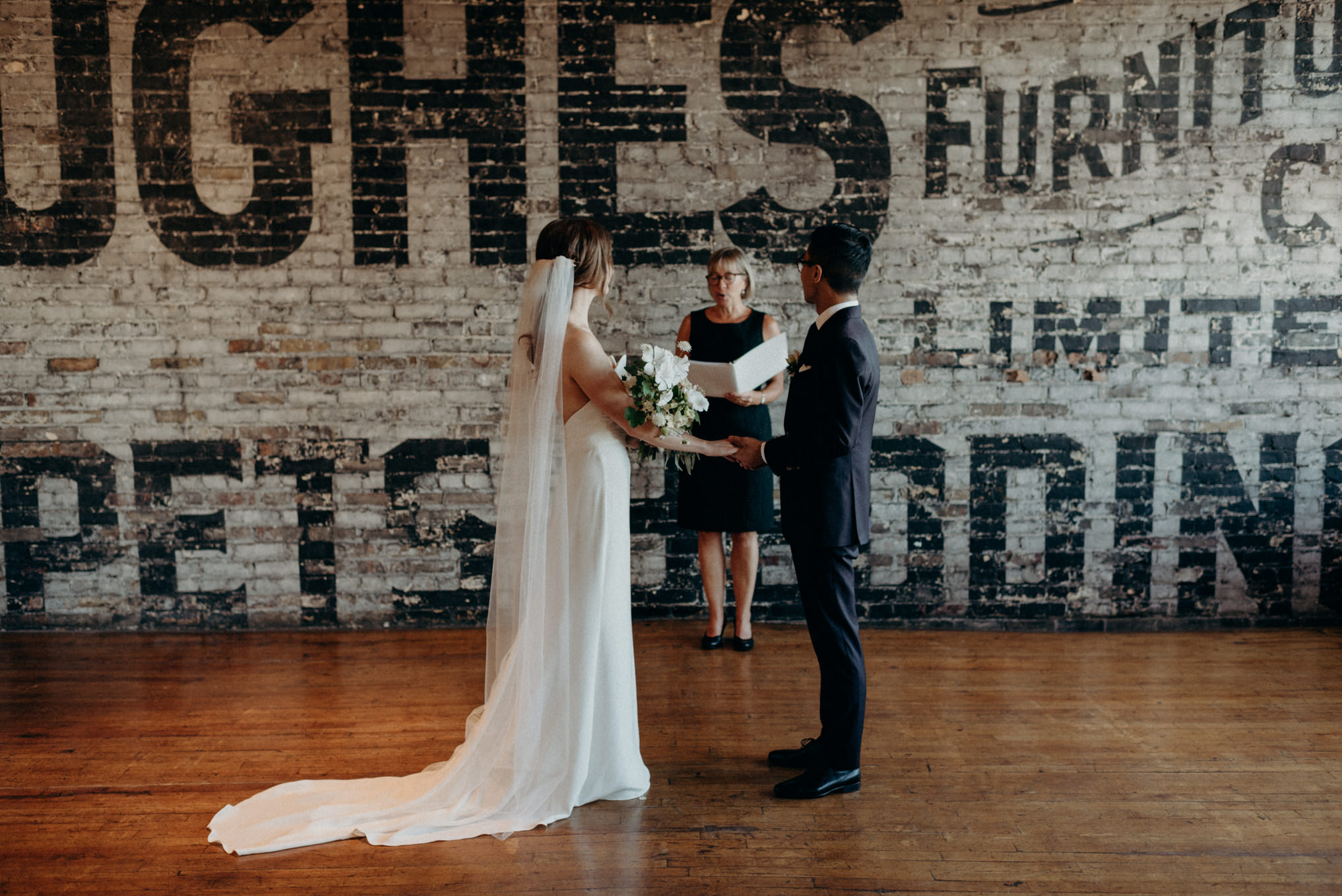 Intimate midweek elopement at The Burroughes