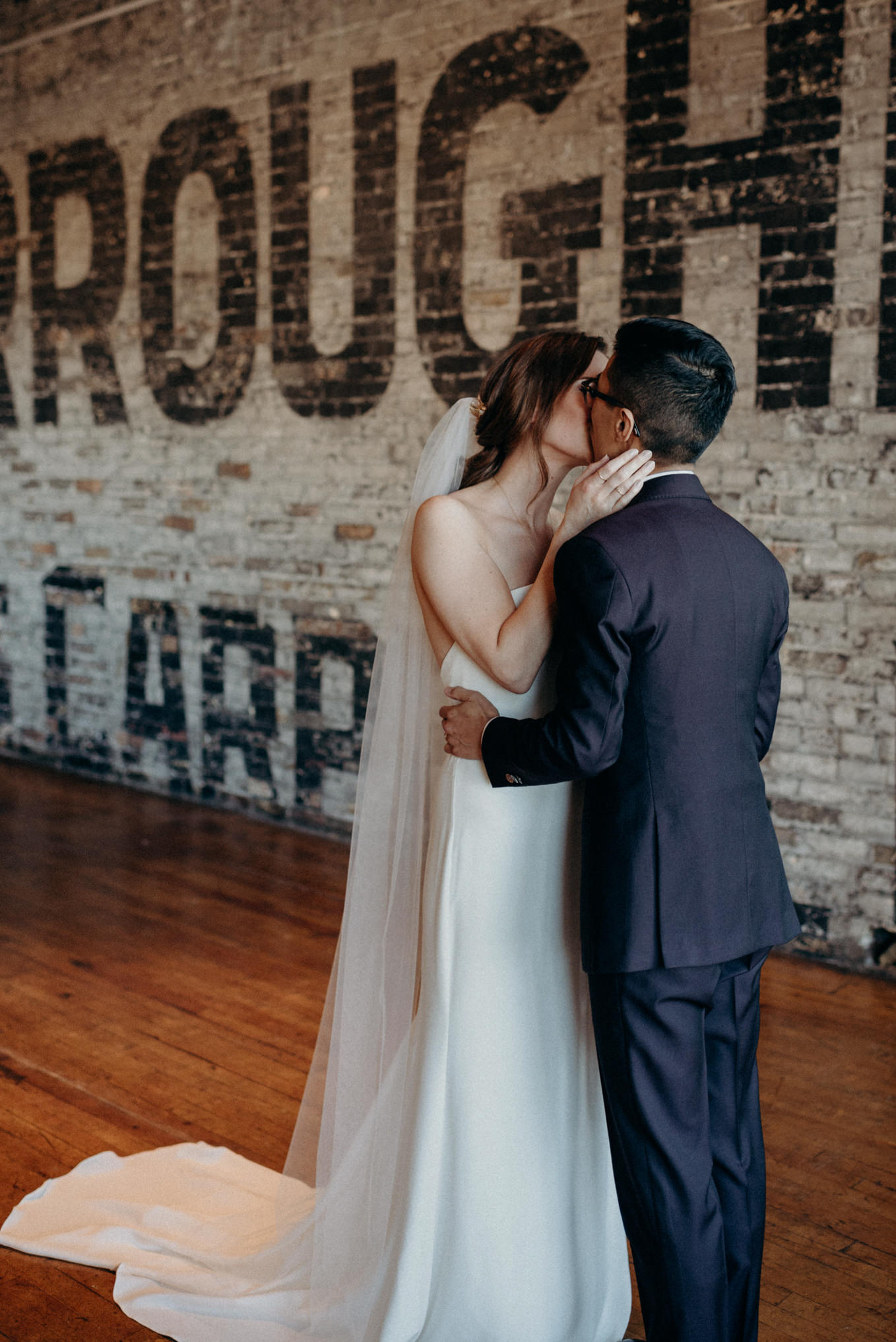 First kiss, midweek elopement at The Burroughes