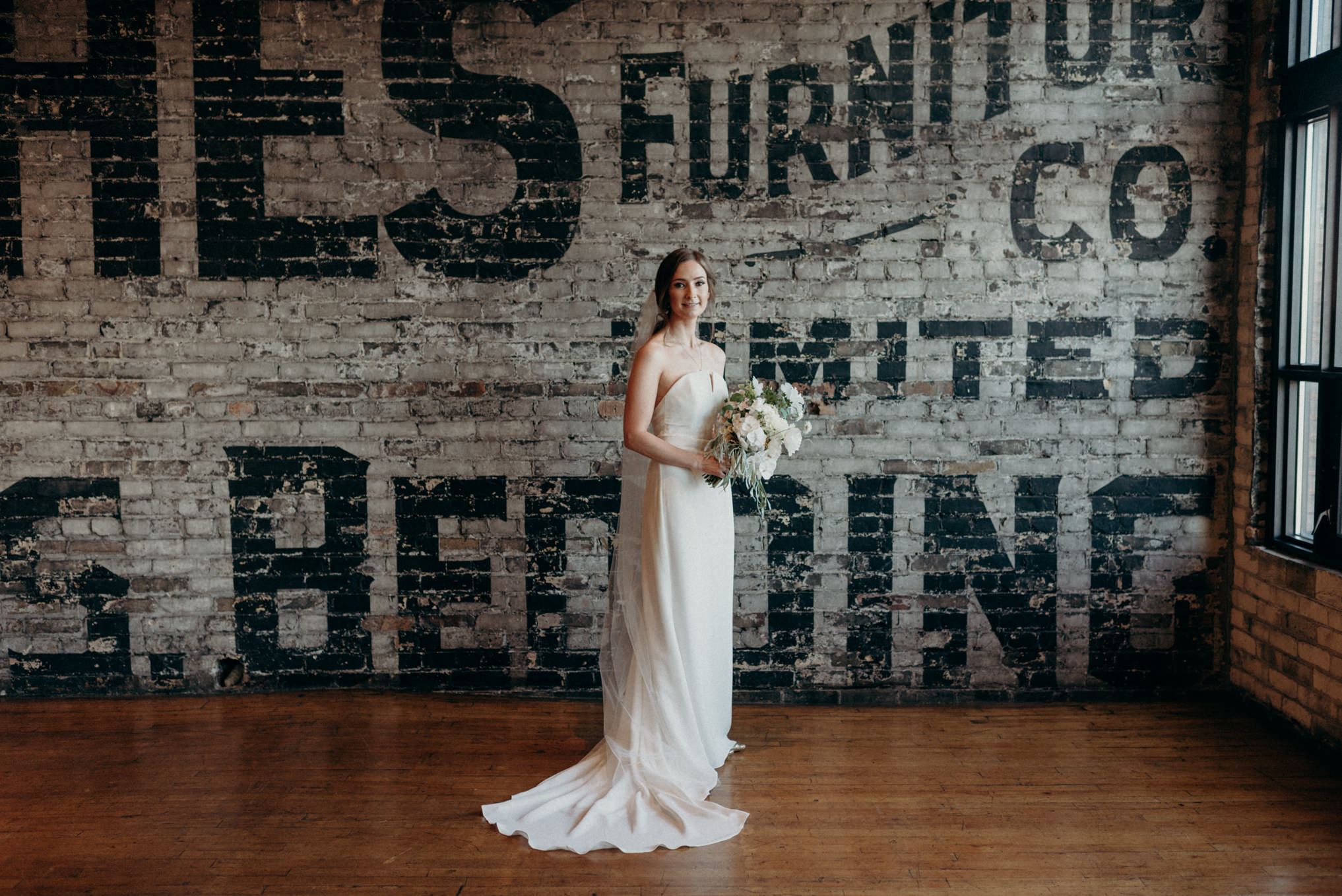 wedding portraits at The Burroughes
