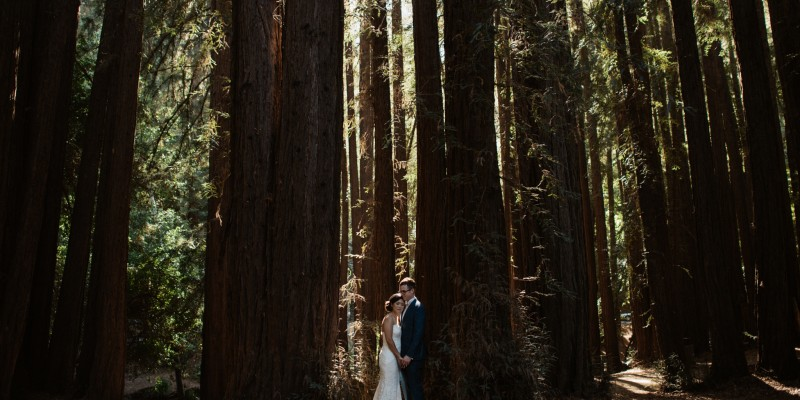 Mill Valley Wedding at Old Mill Park by California wedding photographer Daring Wanderer