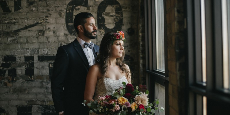 Daring Wanderer - Pizza Party Wedding - Toronto wedding photographer - The Burroughes Wedding - Open Mic wedding - indie wedding