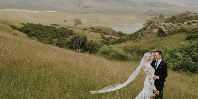 Bohemian hilltop Nicasio Valley California wedding by destination wedding photographer Daring Wanderer
