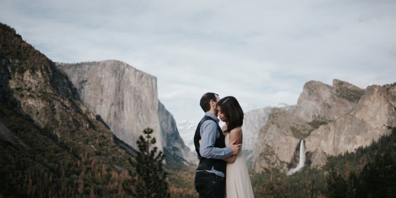 Yosemite Wedding Portraits // Daring Wanderer