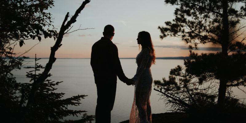 Sleeping Giant Engagement shoot in Thunder Bay by wedding photographer Daring Wanderer // www.daringwanderer.com