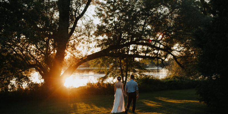 Bohemian handmade Rideau Hill Camp wedding