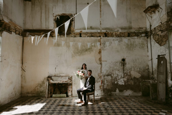Chateau wedding in Normandy