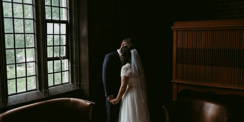 wedding portraits at Hart House