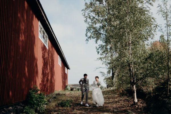 Helsinki Wedding at Valkosaaren Telakka