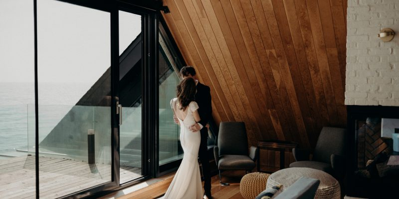 Elopement in Owner's Suite of Drake Devonshire Inn