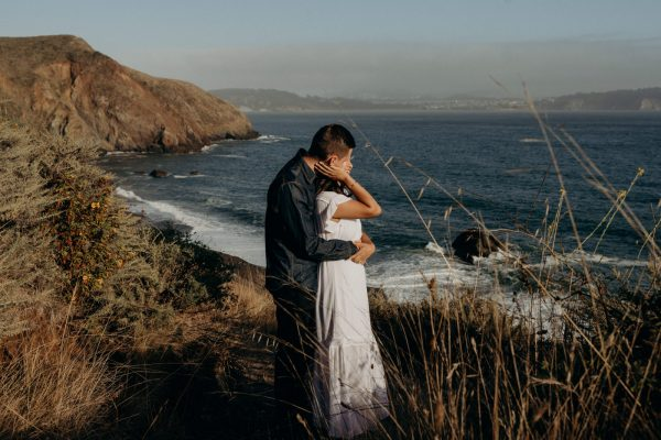 Sunset Engagement Shoot at Marin Headlands