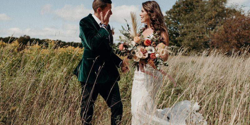 Ontario farmhouse wedding